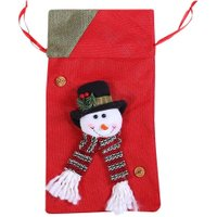 1 PCS Christmas Candy Bag Christmas Santa Pants /Snowman/Elk Gift Bag Wedding Candy Sack Xmas Decor Christmas Gift Bags