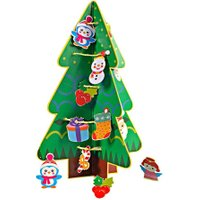 DIY Paper Handmade Xmas Tree Santa Claus Snowman Card Kid Toy Xmas Gift Box