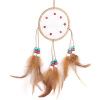 Fashion Wind Chimes Indian Style Feather Pendant Dream Catcher Home Decor Hanging Decoration Nice Gift