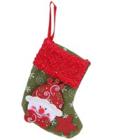 Gift For New Year Christmas Decor Party Decorations Santa Claus Christmas stocking Candy Socks Christmas Gifts Bag For Home