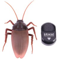 Plastic RC Simulation Creepy Cockroach Infrared Insects Joke Toys Kid Gifts