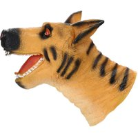 Simulation Soft Vinyl Animal Hand Puppet Kids Child Developmental Toy Gift